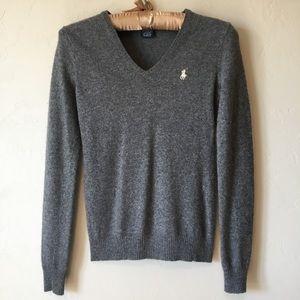 [Ralph Lauren] Gray Lightweight Sweater